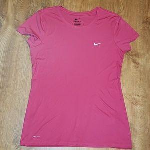 Nike Dri-Fit Crew Neck Athletic Shirt